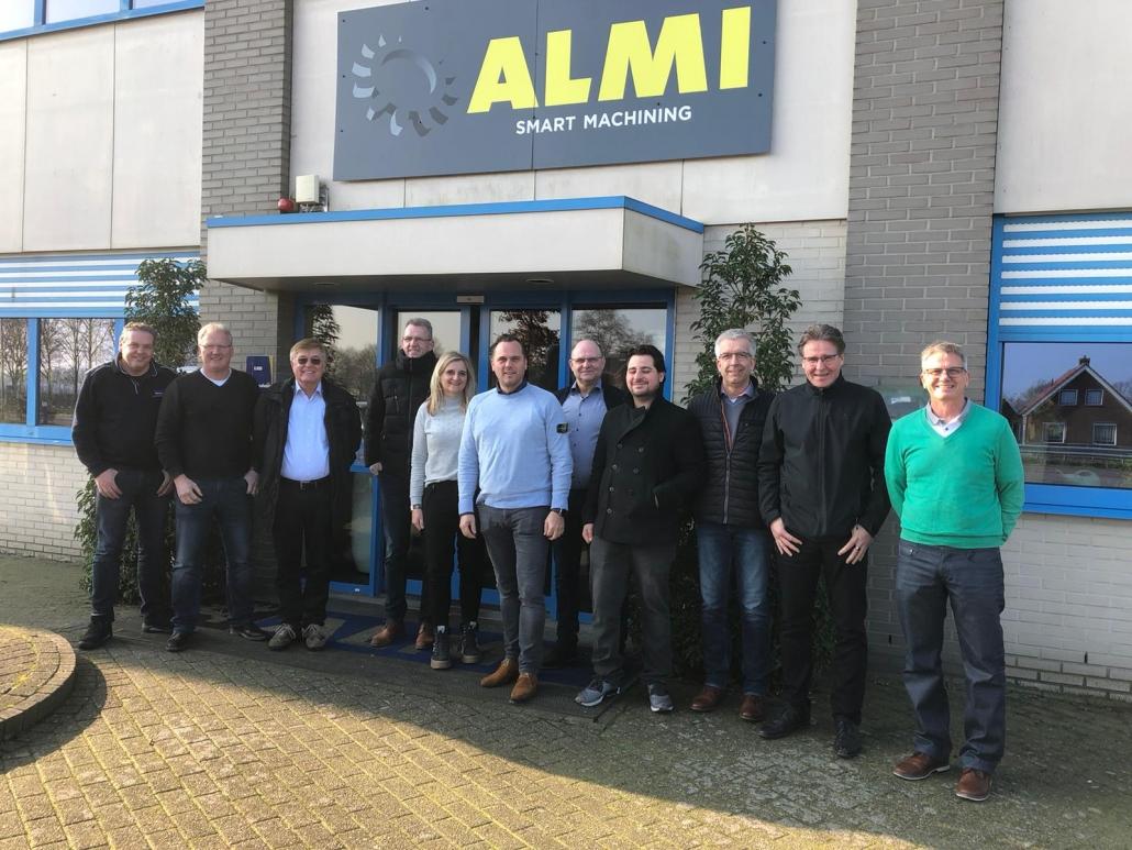 Neue Werksvertretung der Firma ALMI für Rohrausschleifer und Rohrausklinker